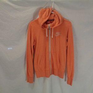 Nike Zip-up Sweatshirt Sz M ECU